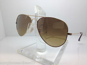 65d02f51dc25f New Ray Ban Sunglasses RB 3025 001 M2 58MM rb3025 rayban GOLD MIRROR ...