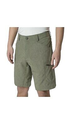 NWT ZeroXposur Size 36 Oak Tan Tech Stretch Active All-Terrain Travel Shorts