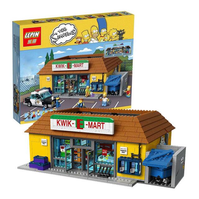 Kwik-E-Mart 2232pcs The Simpsons - Pls msg for color box