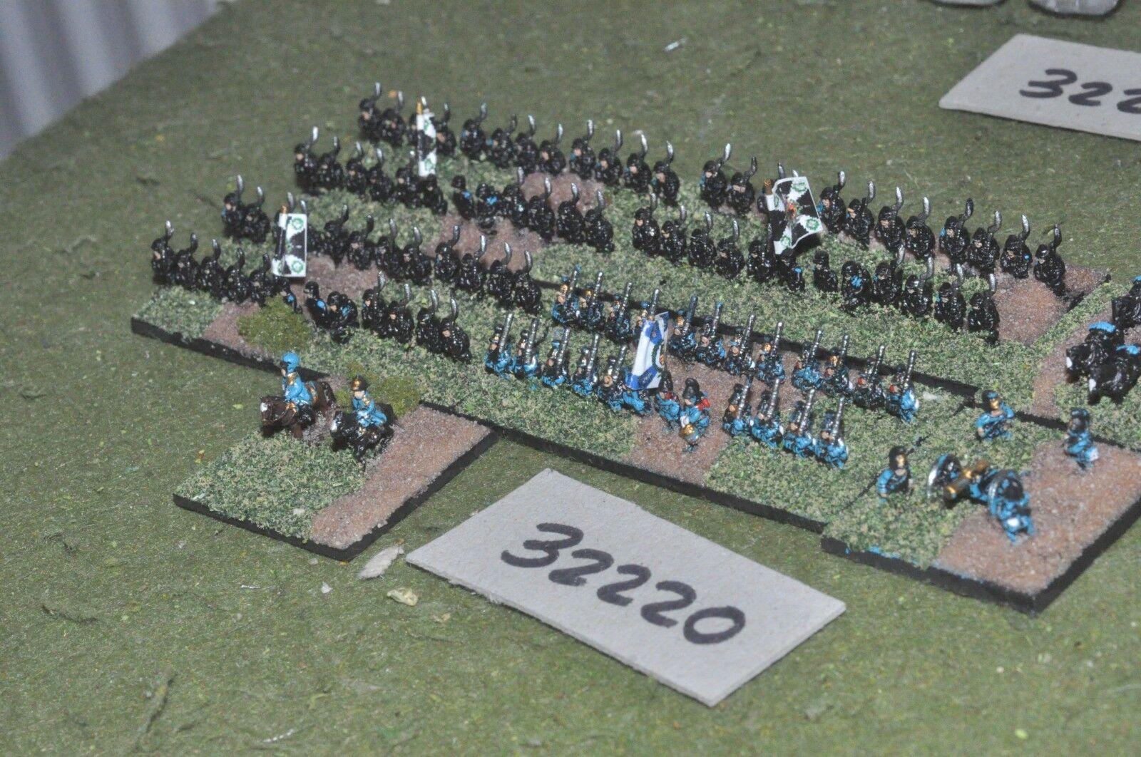 6mm 19th century   bavarian - brigade 100 figures - inf (32220)