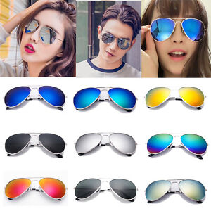 Multicolour-Silver-Gold-Mirror-Sunglasses-Mens-Womens-Sunglasses