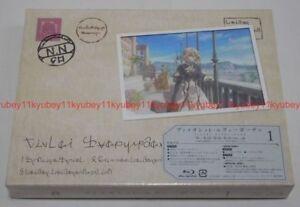Violeta-Evergarden-Vol-1-Primera-Edicion-Limitada-Blu-ray-FOLLETO-Japon-Tarjeta-Post