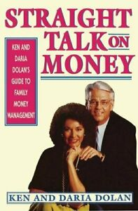 Straight Talk on Money.by Dolan, Ken  New 9780684800493 Fast Free Shipping.#