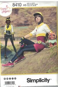 8410-UNCUT-Simplicity-Sewing-Pattern-Misses-Costume-Cosplay-Pokemon-Go-Trainer
