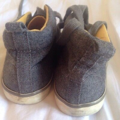 Boys Gap Canvas Shoes Size UK Infant 10 <BC986