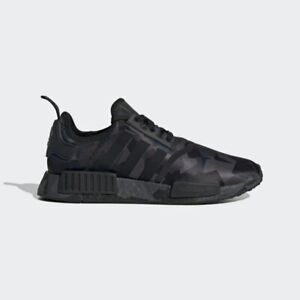 NEW-170-adidas-Men-039-s-NMD-R1-SHOES-Core-Black-Grey-Six-Carbon-EF4263