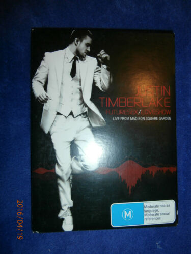 1 of 1 - Justin Timberlake - Futuresex/Loveshow Live At Madison Square Garden (DVD, 2007)