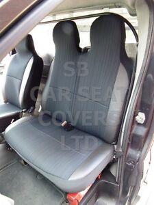 passend-fuer-Hyundai-iLoad-Lieferwagen-Hochdach-Sitzbezuege-Indus-grau