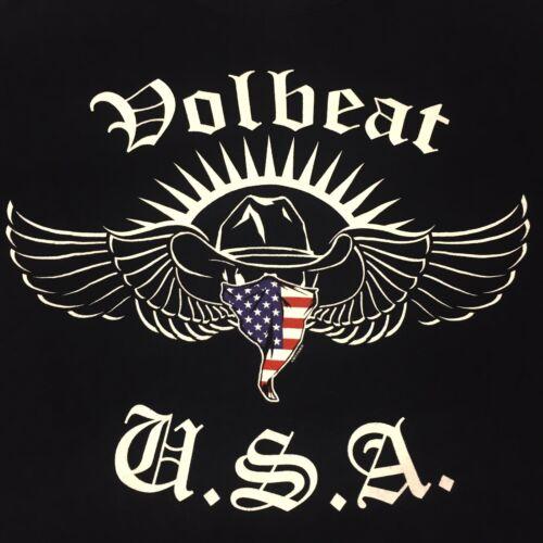 Volbeat Medium Black T-shirt USA 2013 Tour Rock Ba