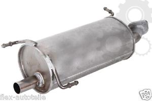 Asmet Muffler End Pipe Exhaust For Vauxhall Agila Suzuki Splash 1,0 1,2