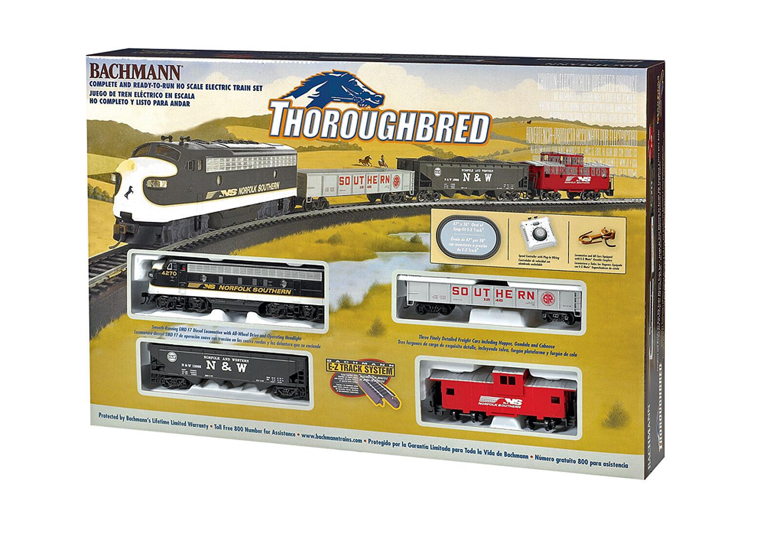 Tren Bachmann Escala Ho Set-pura Sangre  Dc