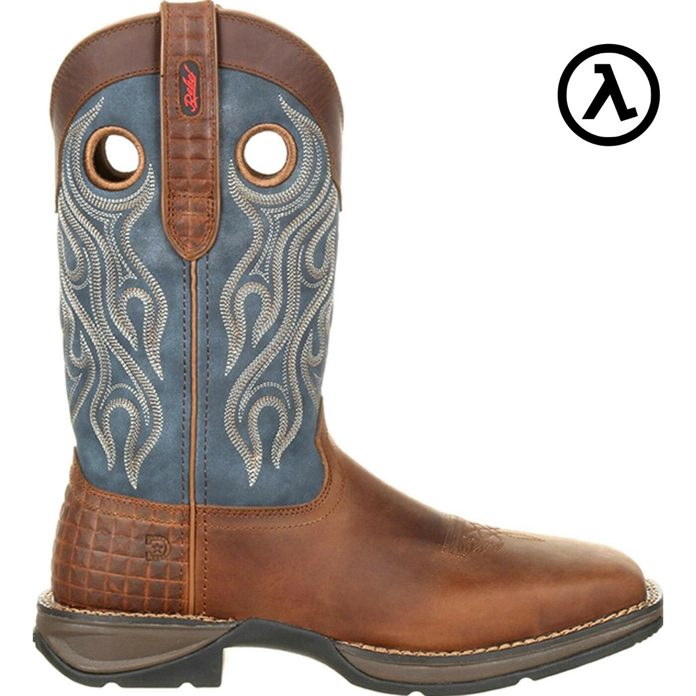 REBEL BY DURANGO STEEL TOE PULL-ON WESTERN BOOTS DDB0134  ALL SIZES - NEW