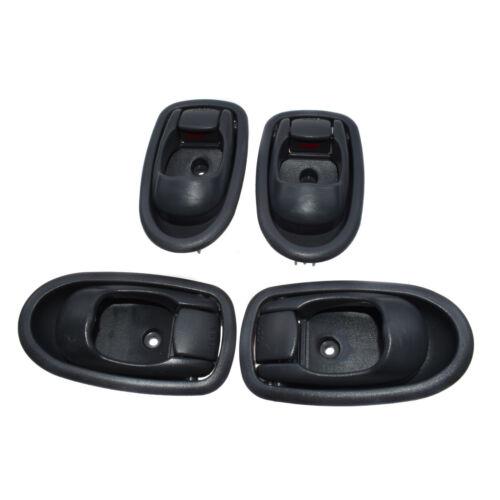 4pcs Gray Grey Inside Inner Door Handle for 95-98 Hyundai Elantra New 8261029000