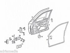 Original Mercedes Türdichtung Dichtung 190 D W124 W201  A2017800578 VORNE LINKS