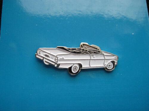 tie tac GIFT BOXED 1962  1963  CHEVY II  NOVA  convertible hat pin lapel pin