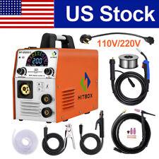 Hitbox 4 In 1 Mig Tig Welder 110v 220v Inverter Gaslessgas Mig Welding Machine
