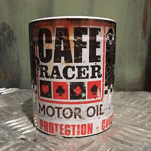 cafe racer lkanne geschenk motorrad mechaniker geschenk. Black Bedroom Furniture Sets. Home Design Ideas