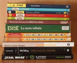 Libri-fumetti-ragazzi-Star-Wars-Paperino-Deltora-Pokemon-Jack-Sparrow