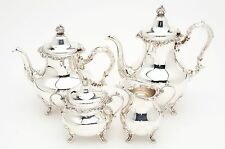 Gorham 'Strasbourg' Sterling Silver Tea/Coffee Set/Service, 67.50 Troy Ounces