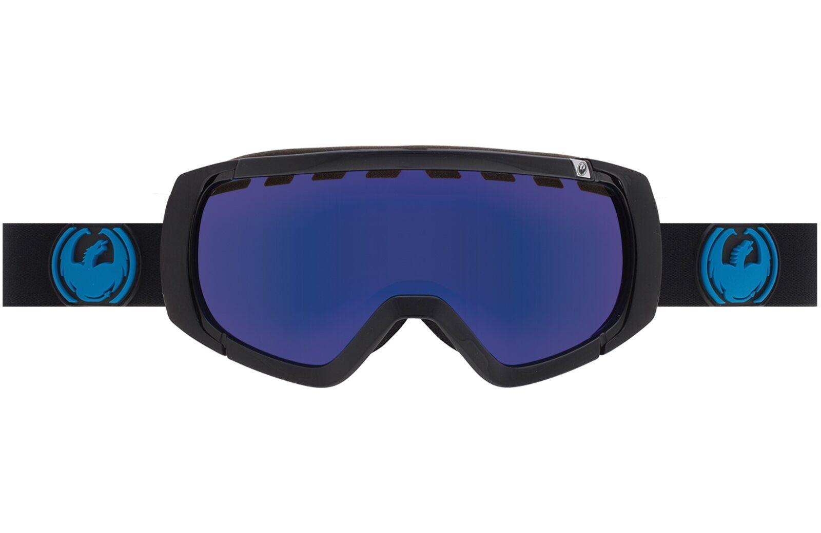 Nuevo 2016 Dragon Alliance Rogue Puro Humo Azul + Bono Lentes Snowboard Esquí