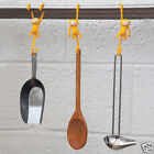 Just Hanging Kitchen hooks YELLOW Kitchen Home Funky Gift Monkey Business