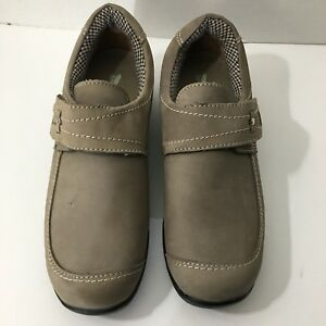 "432f81df30f6a2 Barefoot Freedom By Drew Taupe Suede ""Antwerp"" Shoe Sz 7W New Ortho ..."