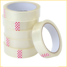 Packing Tape Clear Strong Tape Rolls Parcel Sellotape 25mm X 40m Selotape Tape