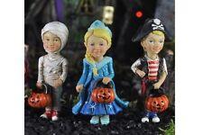 Miniature Garden Trick or Treat Kids pick set/3 Mummy Princess Pirate 17305