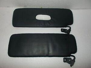 Sunvisors LH/&RH with mirror black Sun Visor Suzuki Samurai 86-95