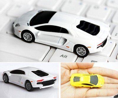 New Sport Car Model 4GB-32GB USB 2.0 Enough Memory Stick Flash pen Drive Gift