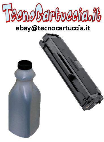 Kit di Ricarica Toner per Samsung SCX 3405 F W MLT-D101S MLT D 101 S Polvere