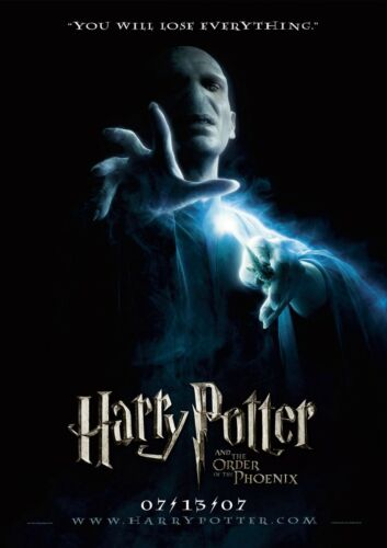 Harry Potter Trilogy Movie PostersA4 A3 A2 A1Wall Decal Poster