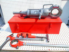 Ridgid 700 Pipe Threader Exc To New Npt 12r Heads And Dies Set Exc Tool