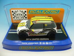 C3496 Scalextric Team Mini Sln Edition Limitée