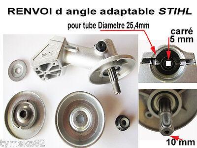 tete Renvoi d angle adaptable STIHL diametre 25,4   piece debroussailleuse tete
