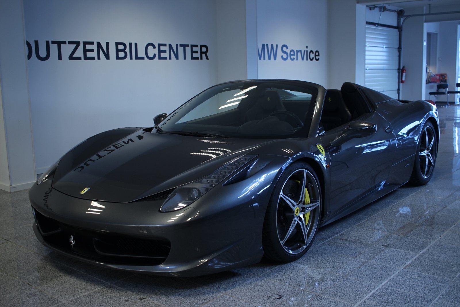 Ferrari 458 4,5 Spider DCT 2d