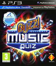 ELDORADODUJEU     BUZZ THE ULTIMATE MUSIC QUIZ 2010 PLAYSTATION 3 PS3 NEUF VF