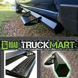 06-21 Fit Toyota Tacoma Double Cab Hexagon style Side Steps Running Boards BLK
