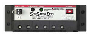 Morningstar-SSD-25-SunSaver-Duo-25-Amp-12-Volt-Solar-Charge-Controller