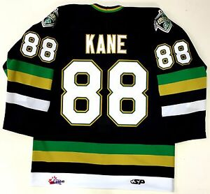 Image is loading PATRICK-KANE-AUTHENTIC-LONDON-KNIGHTS-OHL-JERSEY-NEW- 8d245671d
