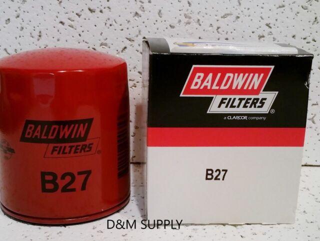 Made in USA Baldwin OMC Marine Oil Filter Short 173232
