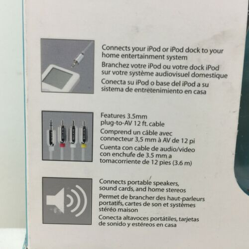 Color LCD Belkin AV Cable for iPod