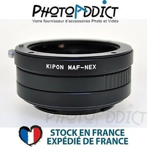 KIPON-MA-NEX-Bague-d-039-adaptation-objectif-Minolta-AF-vers-boitier-Sony-NEX
