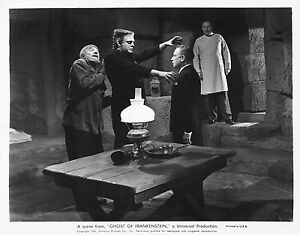 THE GHOST OF FRANKENSTEIN BLACK AND WHITE 8x10 classic PHOTO  !!!
