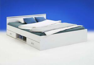bett einzelliege jugendbett 140x200 cm kinderzimmer schlafzimmer weiss neu ebay. Black Bedroom Furniture Sets. Home Design Ideas