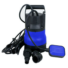 Submersible Pump Dirty Water Portability Flooding Swimming Pool 12 Hp 2000gph