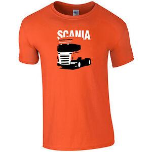 Scania-Truck-Mens-T-Shirt