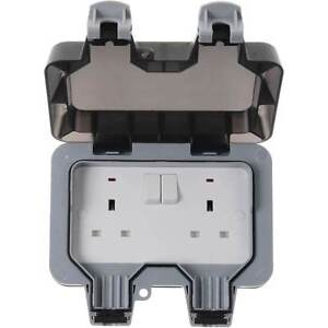 BG-Electrical-13-A-2-Gang-Storm-Weatherproof-Outdoor-Switched-Socket-WP22