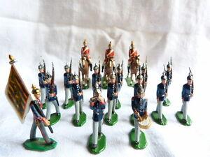 18 Soldats De Plomb Allemands Ou Autrichiens - Guerre 1914-1918 Lot 17