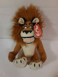 Alex The Lion Madagascar Escape 2 Africa Beanie Baby Ty New Ebay